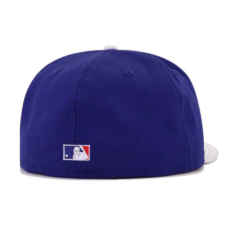 Los Angeles Dodgers Dark Royal Blue Metallic Silver Cooperstown AC New Era 59Fifty Fitted