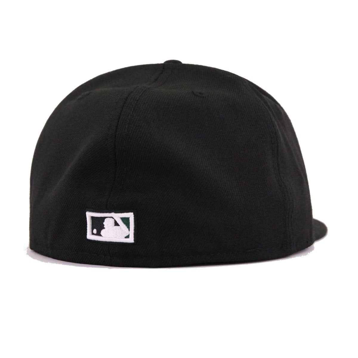 Tampa Bay Rays Black Cooperstown New Era 59Fifty Fitted