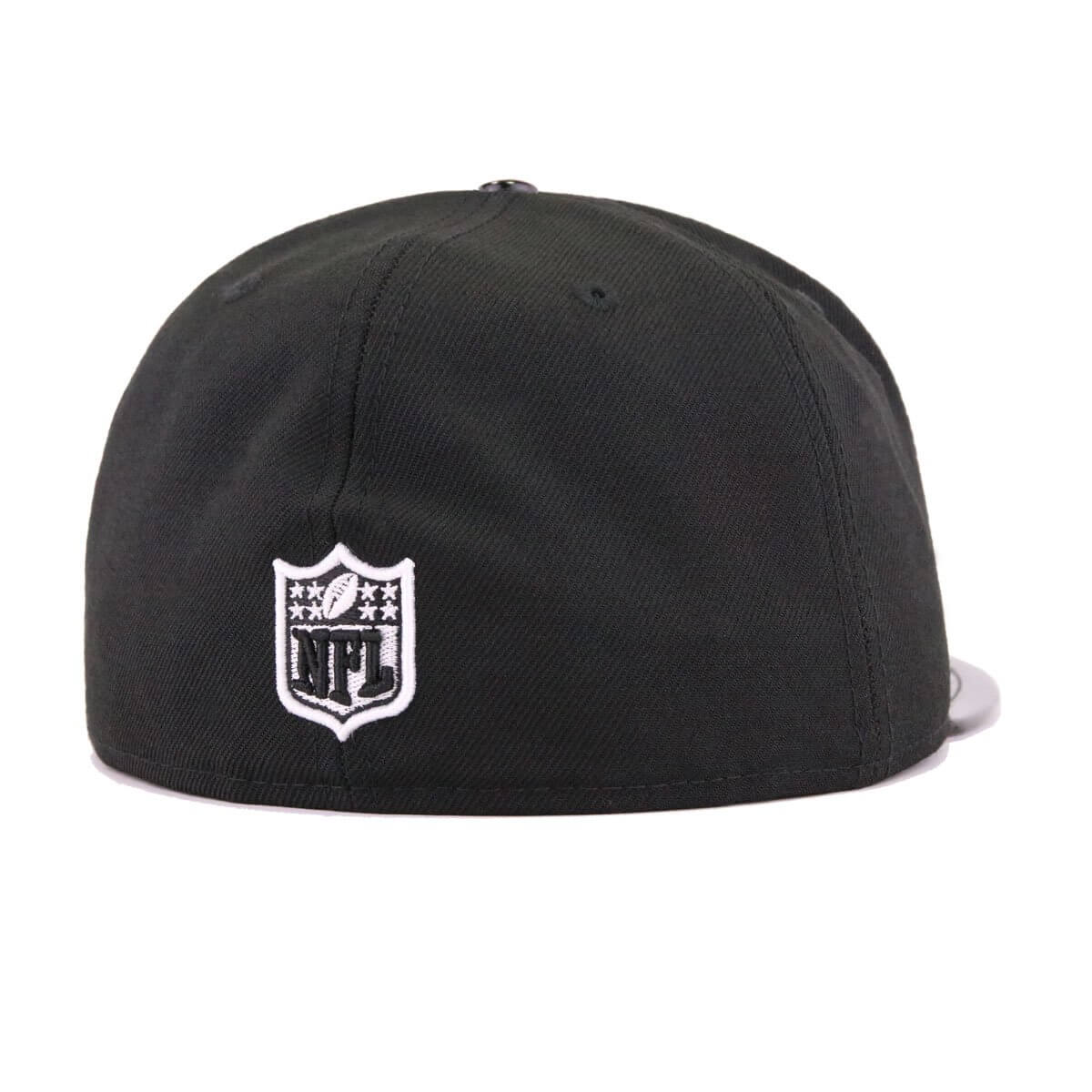 Las Vegas Raiders Black Patent Leather New Era 59Fifty Fitted