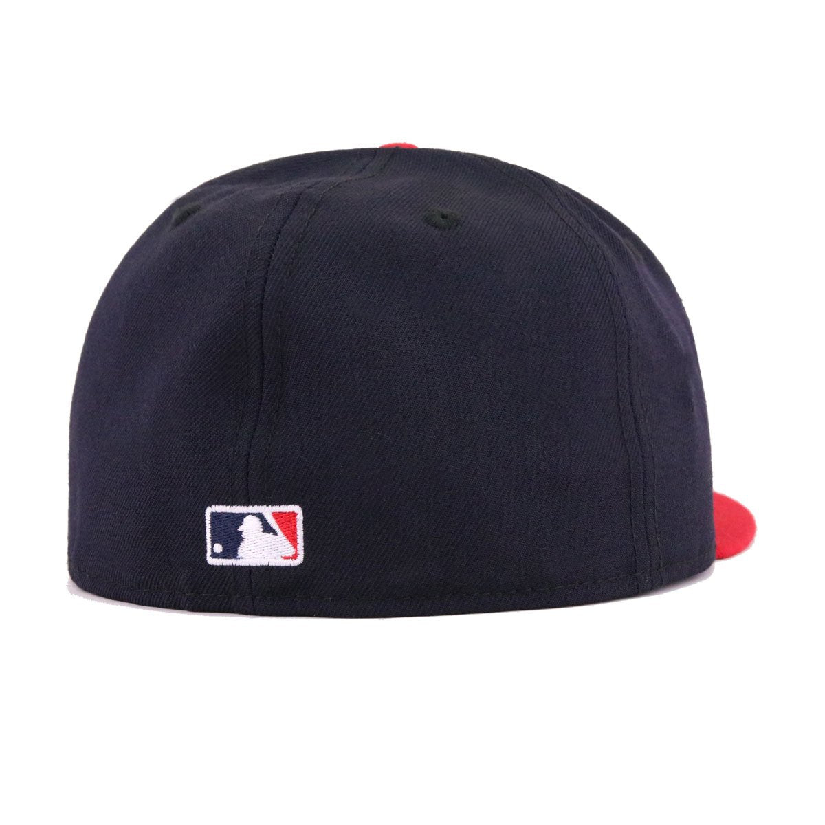 Atlanta Braves Navy Scarlet Cooperstown New Era 59Fifty Fitted