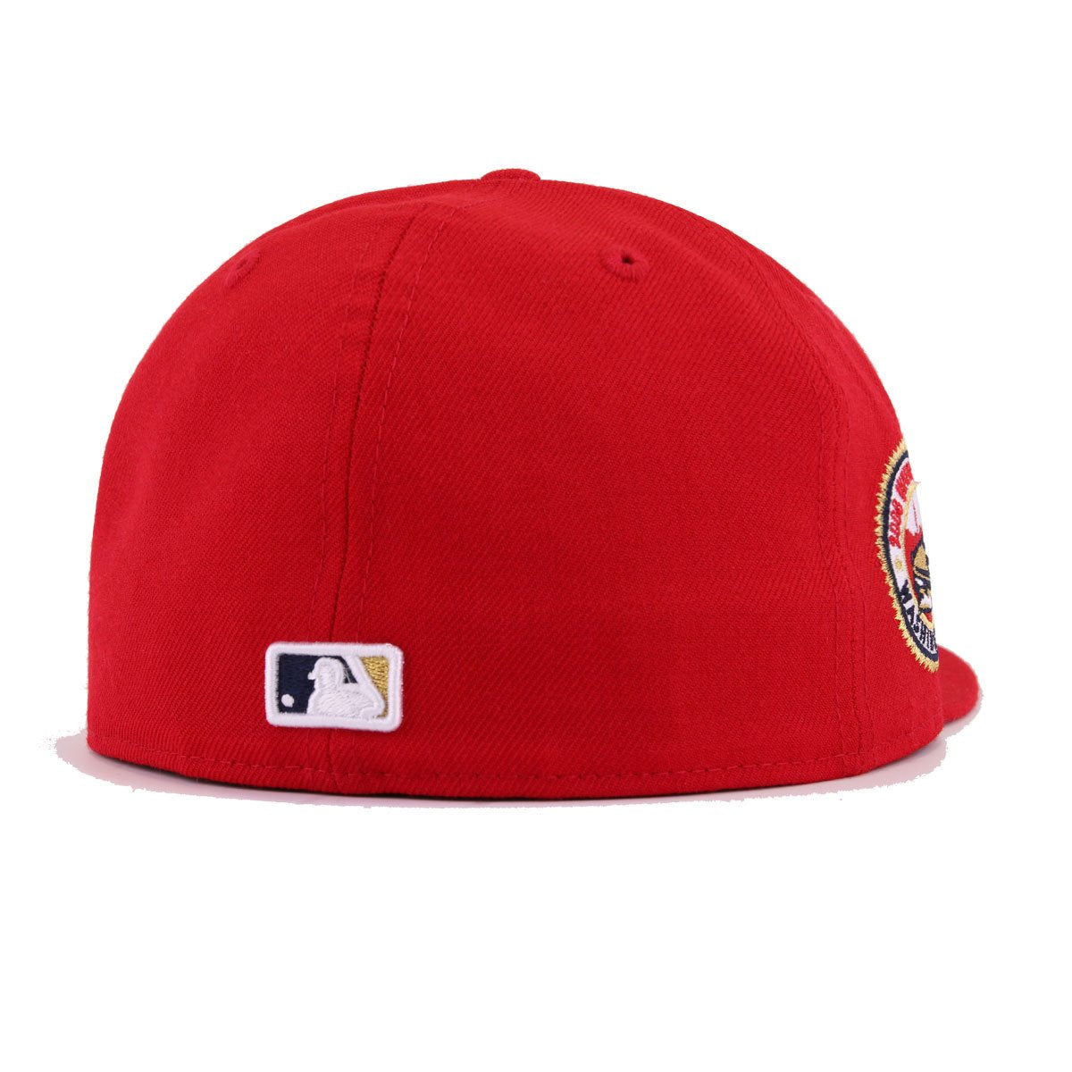 Washington Nationals Scarlet 2008 Inaugural Season New Era 59Fifty Fitted
