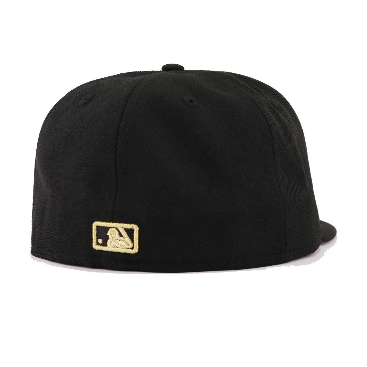 New York Yankees Black Gold Metal Badge New Era 59Fifty Fitted