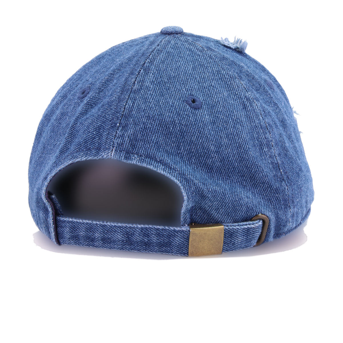 Distressed Medium Denim KBEthos Vintage Dad Hat