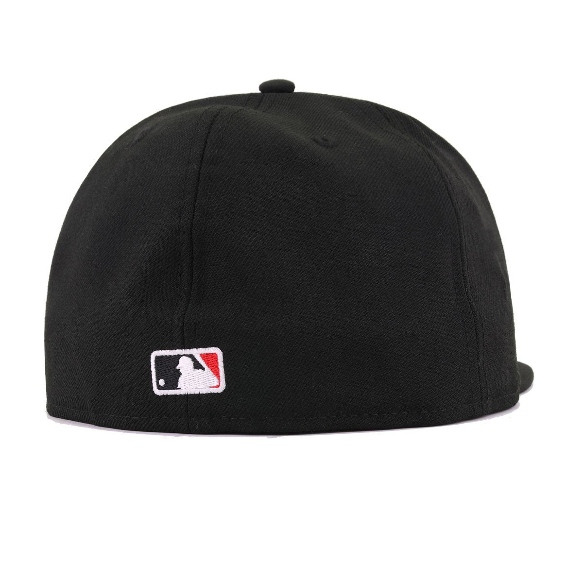 Boston Red Sox Black Scarlet New Era 59Fifty Fitted