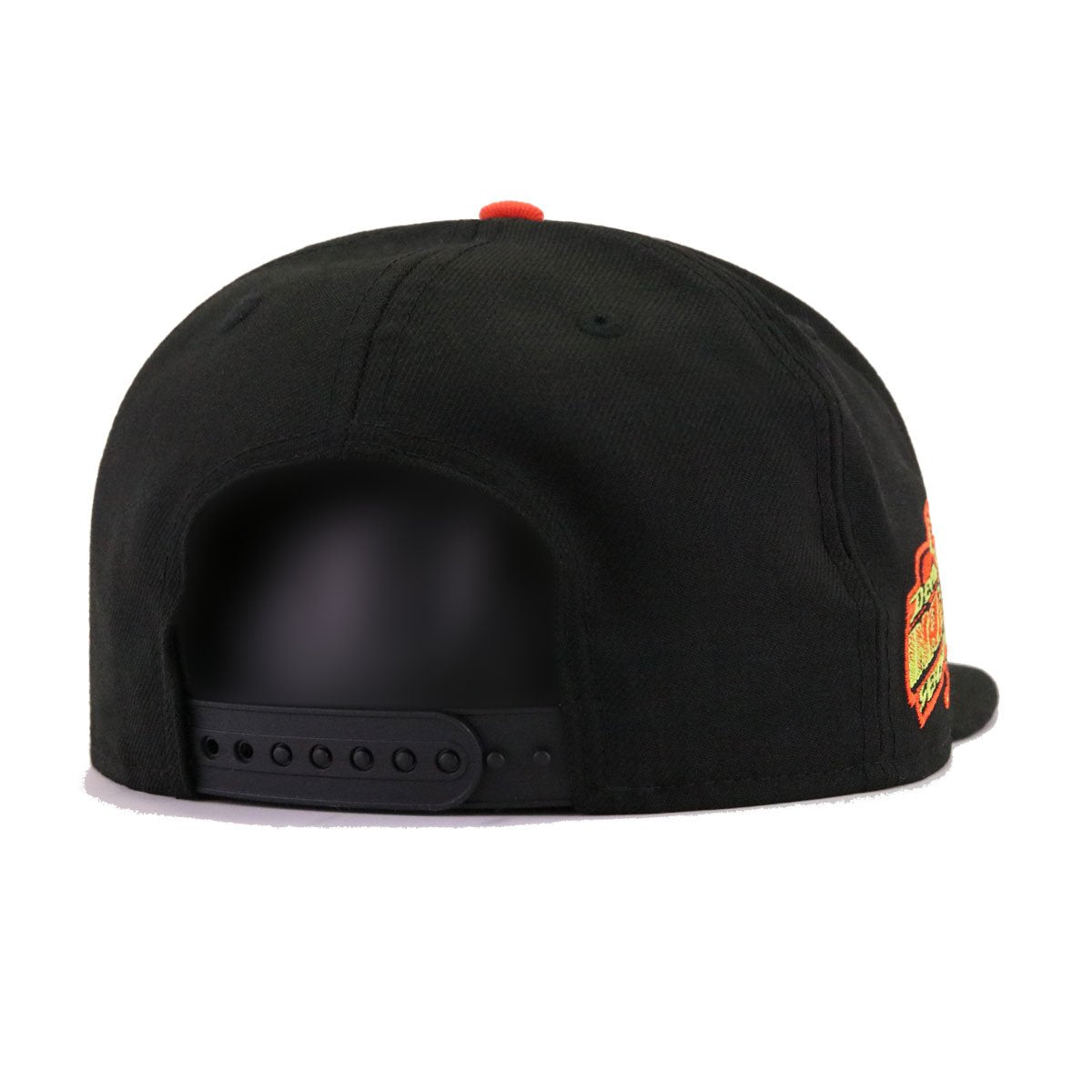 Tampa Bay Rays Black Cyber Green Orangeade 1998 Inaugural Season Cooperstown New Era 9Fifty Snapback