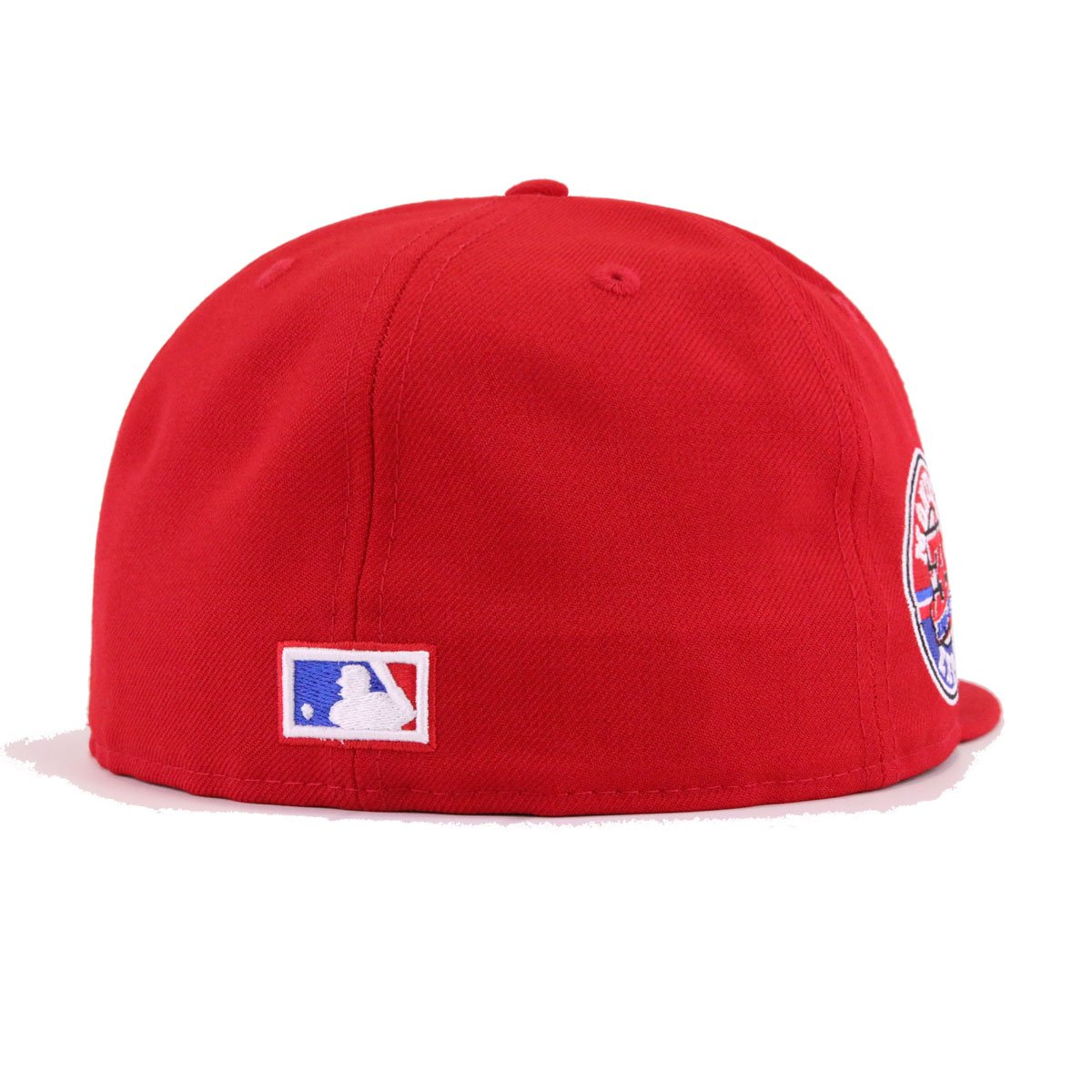 New Era Montreal Expos Snapback Hat Cap RED//35th Anniversary Patch//Grey Bottom