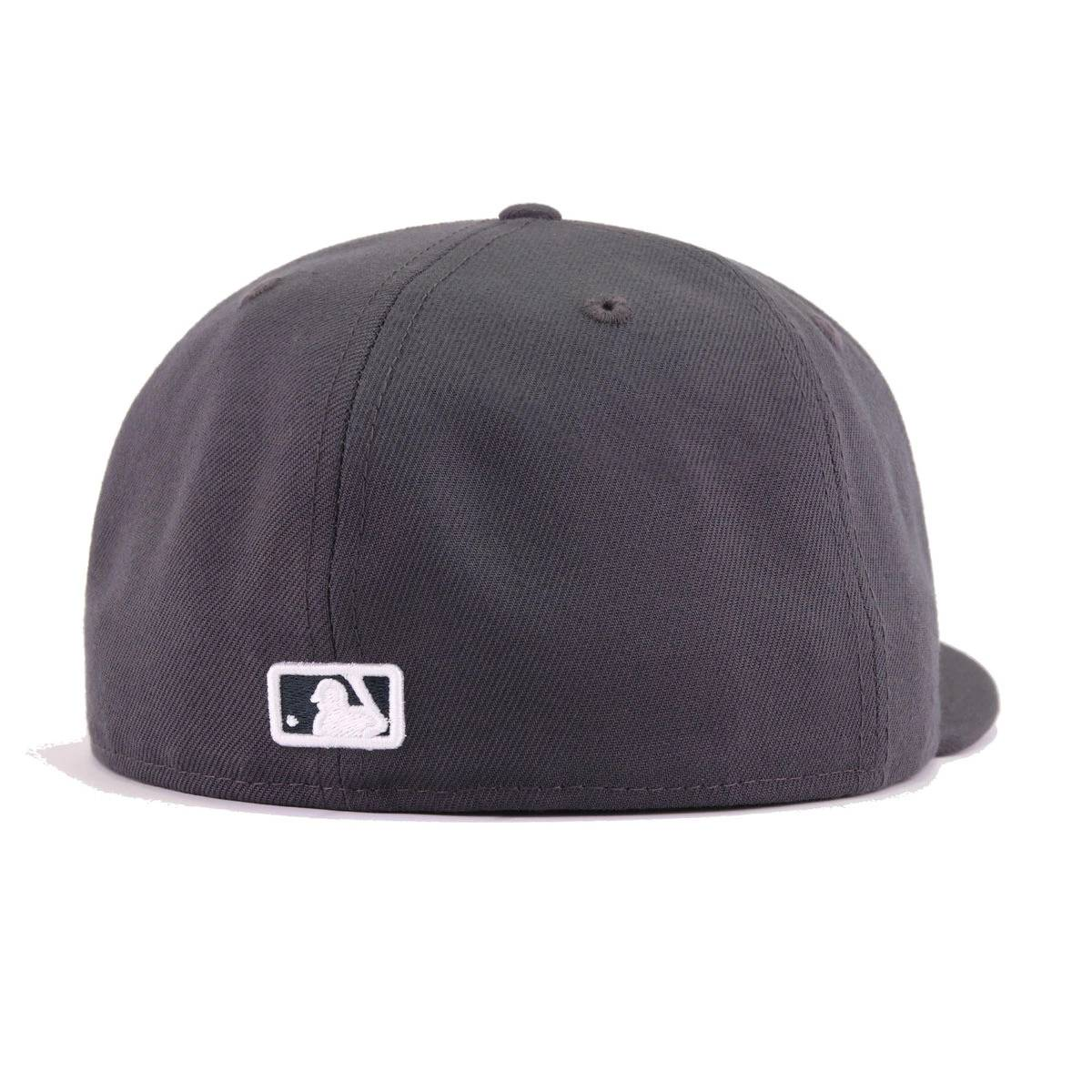 New York Yankees Graphite New Era 59Fifty Fitted