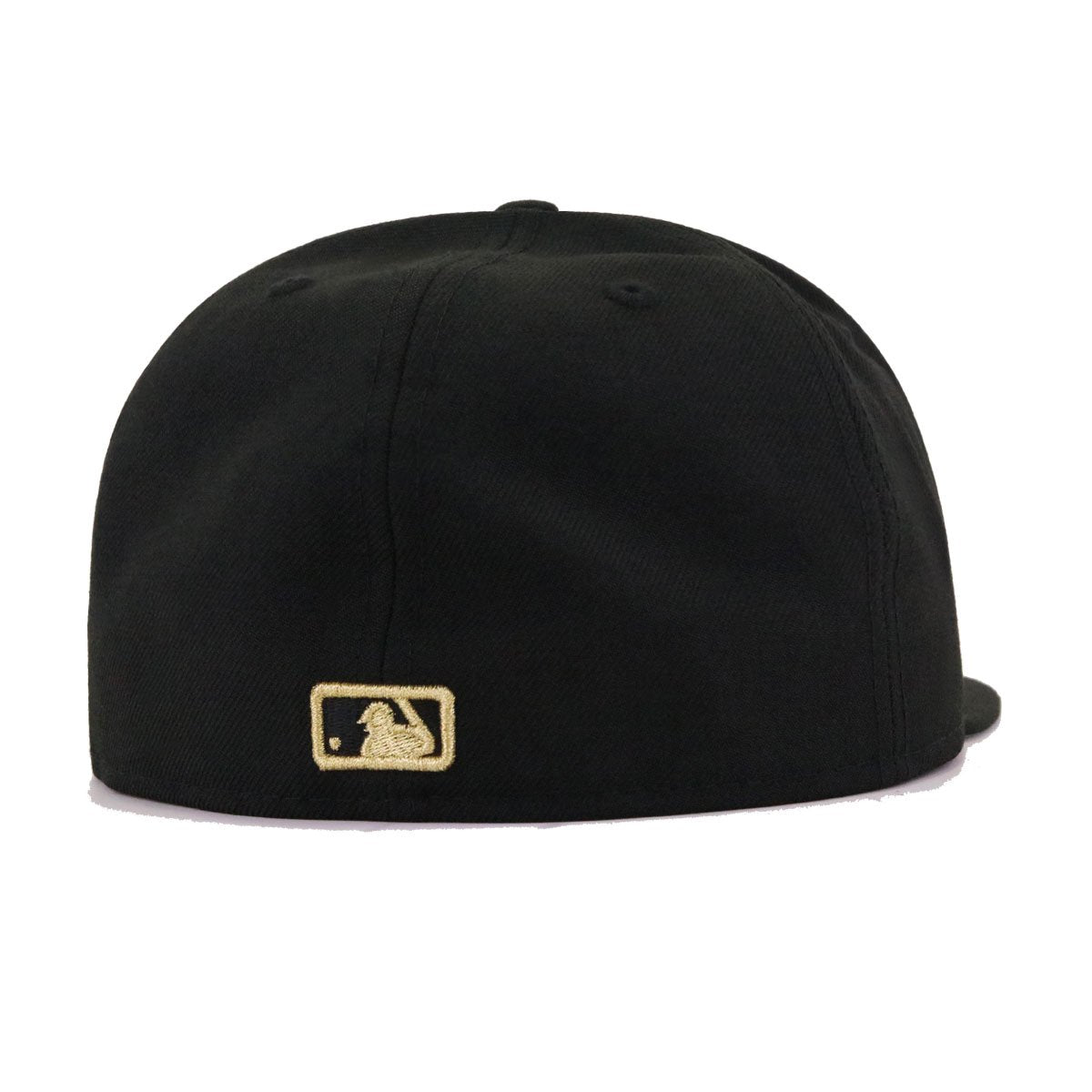 Boston Red Sox Black Gold Metal Badge New Era 59Fifty Fitted