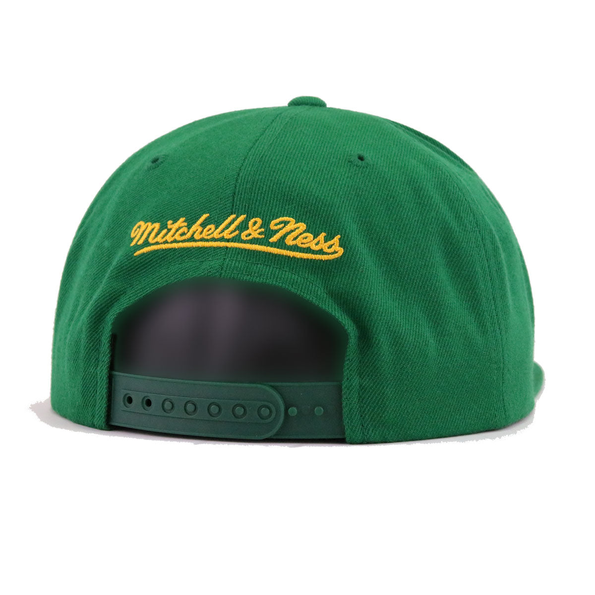 Seattle Supersonics Kelly Green Hardwood Classic Mitchell and Ness Snapback