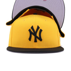 New York Yankees A's Gold Black New Era 9Fifty Snapback