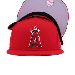 Los Angeles Angels Scarlet 2002 World Series Cooperstown New Era 9Fifty Snapback