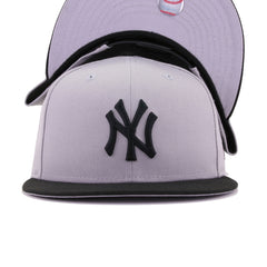New York Yankees Grey Black New Era 9Fifty Snapback