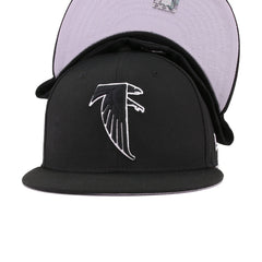Atlanta Falcons Legacy Black New Era 59Fifty Fitted