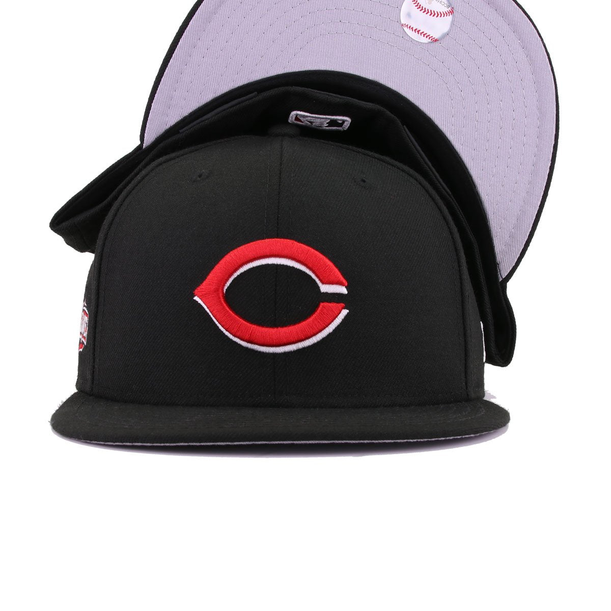 wholesale dealer 7dbb9 45840 ... discount code for cincinnati reds black scarlet 2015 all star game new  era 59fifty fitted 93349