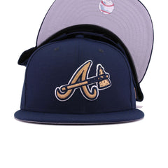 Atlanta Braves Oceanside Blue Sweet Dreams New Era 9Fifty Snapback