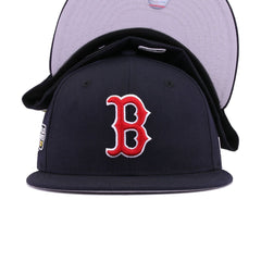 Boston Red Sox Navy 2007 World Series Cooperstown New Era 59Fifty Fitted