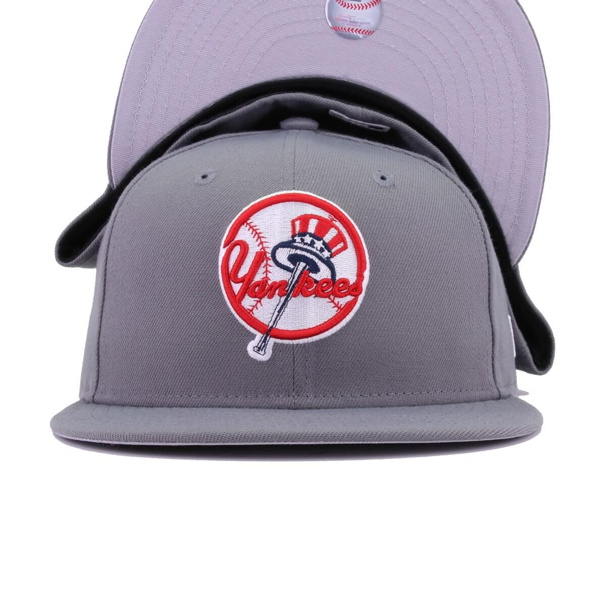 New York Yankees Storm Grey Tophat New Era 59Fifty Fitted
