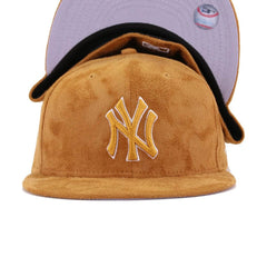 New York Yankees Panama Tan Suede New Era 59Fifty Fitted