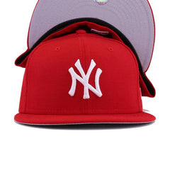 New York Yankees Scarlet New Era 59Fifty Fitted