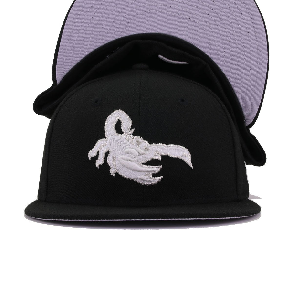 Scottsdale Scorpions Black Glow White New Era 59Fifty Fitted
