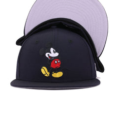 Disney Mickey Mouse Navy New Era 59Fifty Fitted