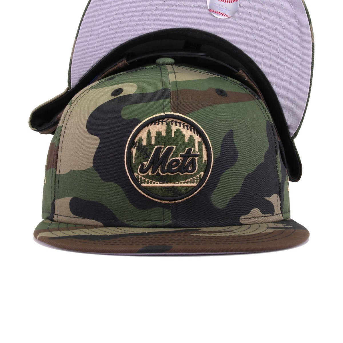 New York Mets Woodland Camouflage 50th Anniversary New Era 9Fifty Snapback