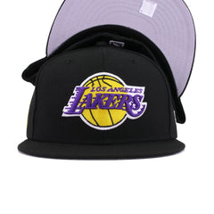 Los Angeles Lakers Black 16 Championships New Era 59Fifty Fitted