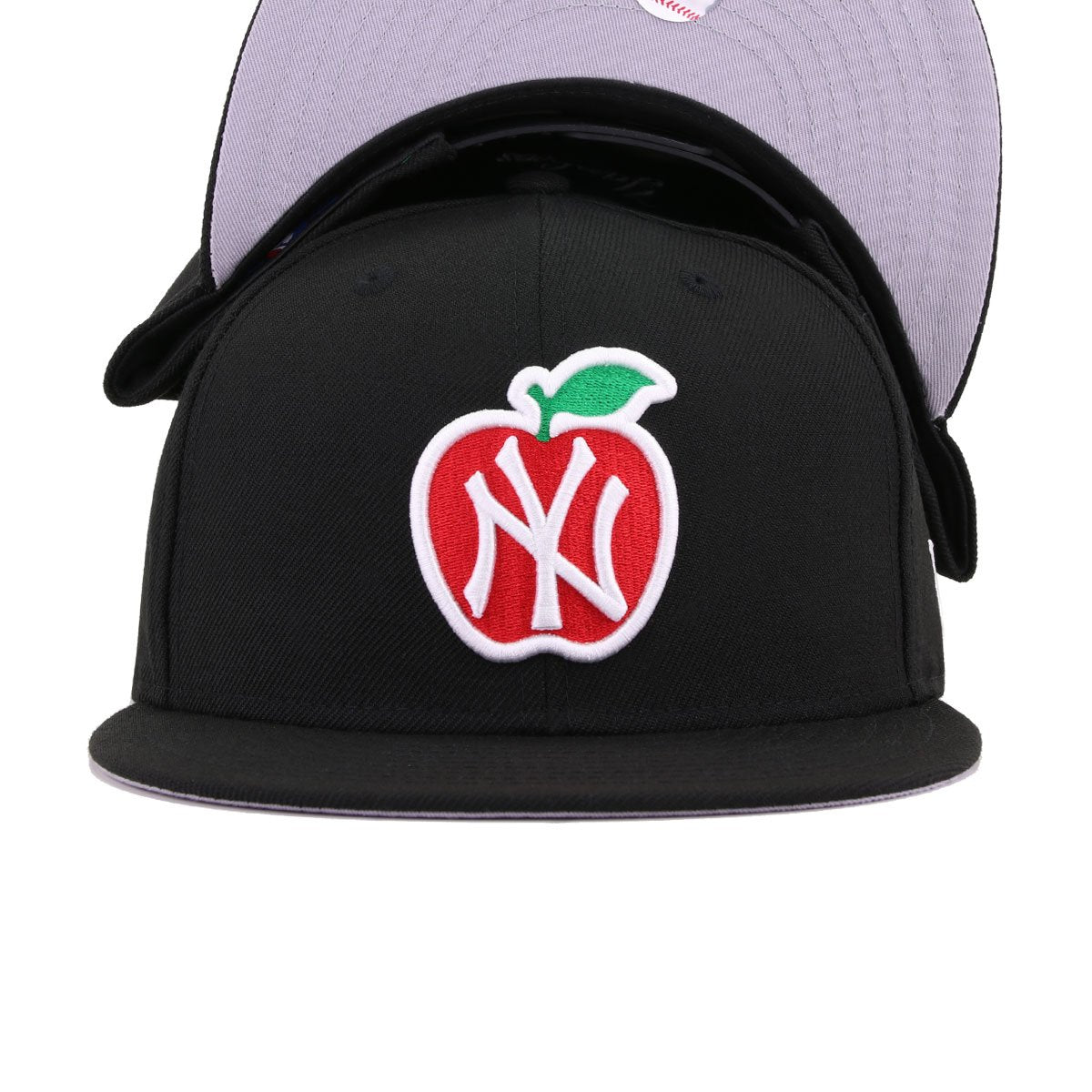 New York Yankees Black Big Apple New Era 9Fifty Snapback