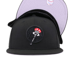 New York Yankees Black Tophat New Era 9Fifty Snapback