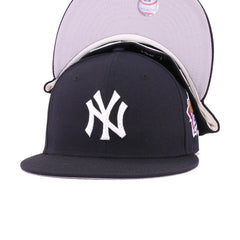 New York Yankees Navy Cooperstown 1999 World Series New Era 59Fifty Fitted