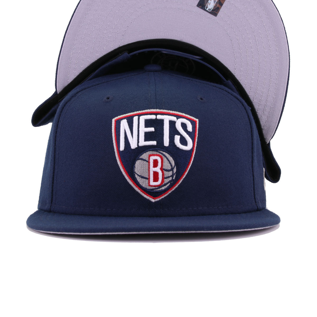 Brooklyn Nets Oceanside Blue New Era 9Fifty Snapback