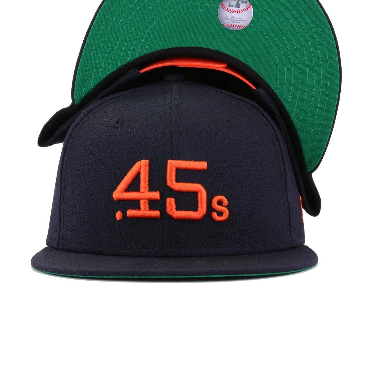 Houston Colt 45s Navy Cooperstown New Era 9Fifty Snapback