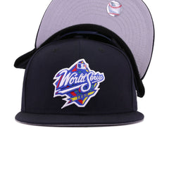 New York Yankees Navy 1998 World Series Front New Era 9Fifty Snapback