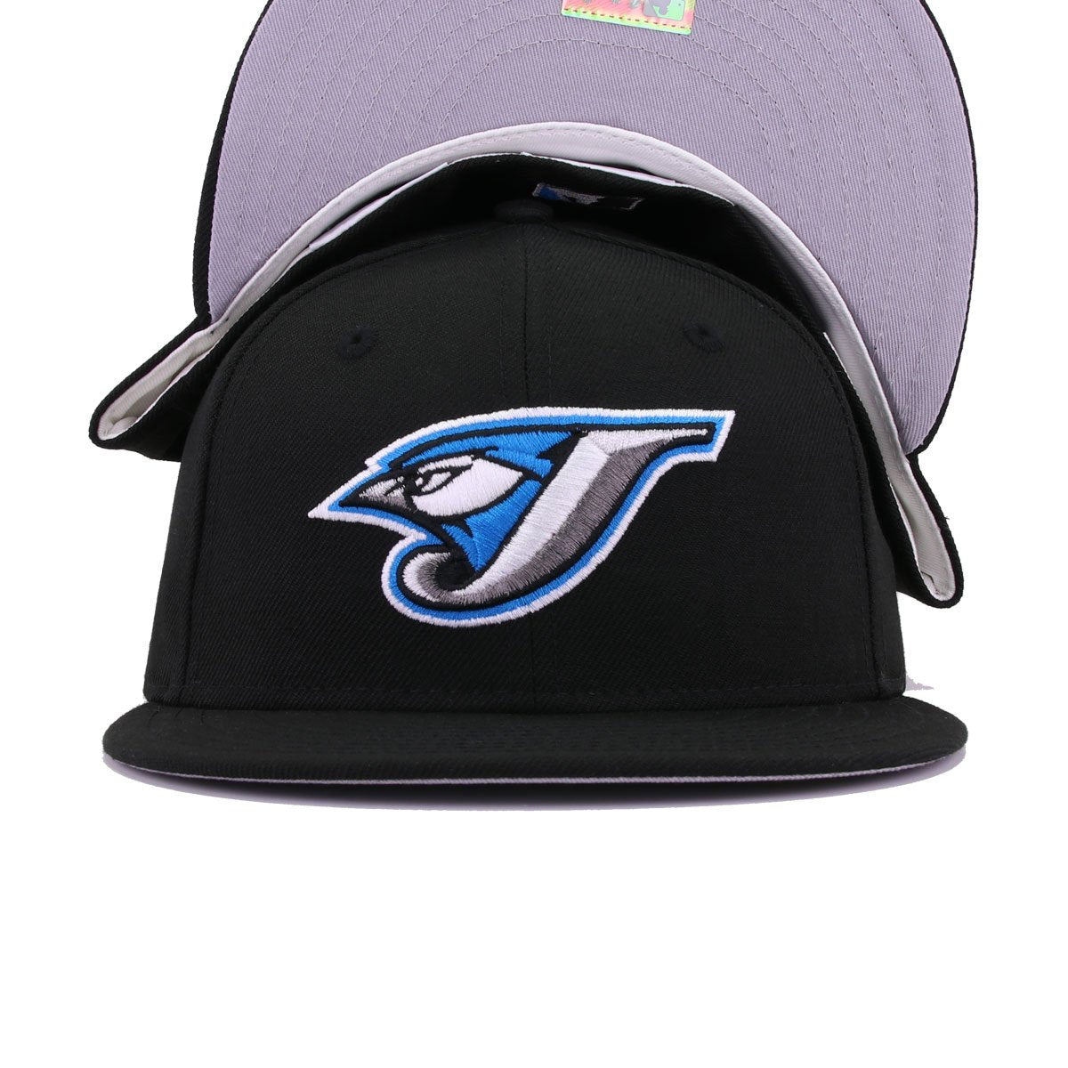Toronto Blue Jays Black Cooperstown New Era 59Fifty Fitted