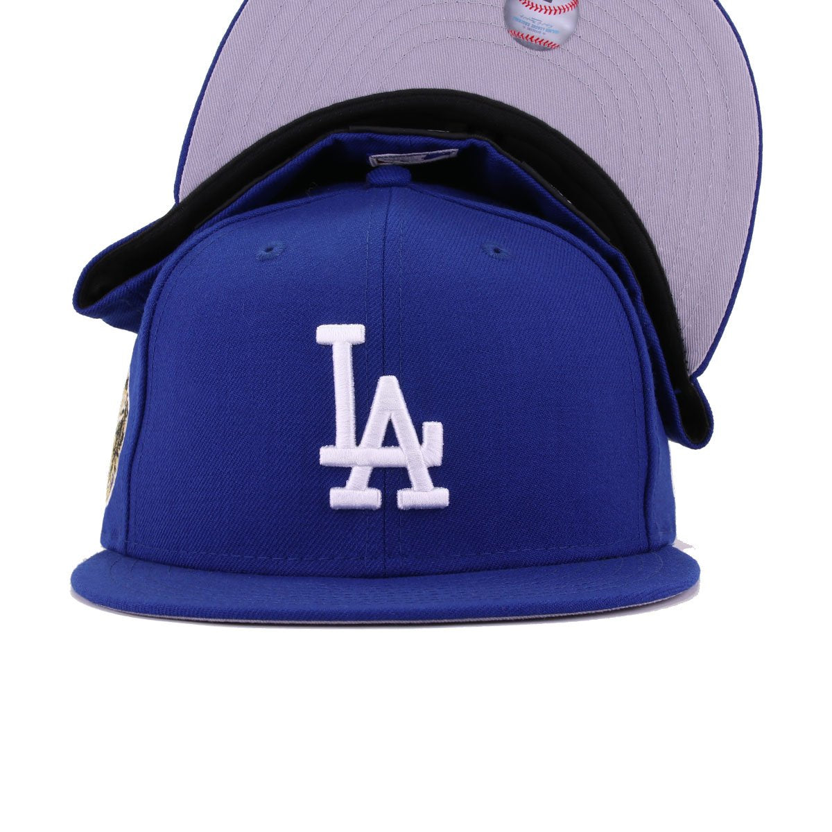 Los Angeles Dodgers Light Royal Blue 1963 World Series Cooperstown New