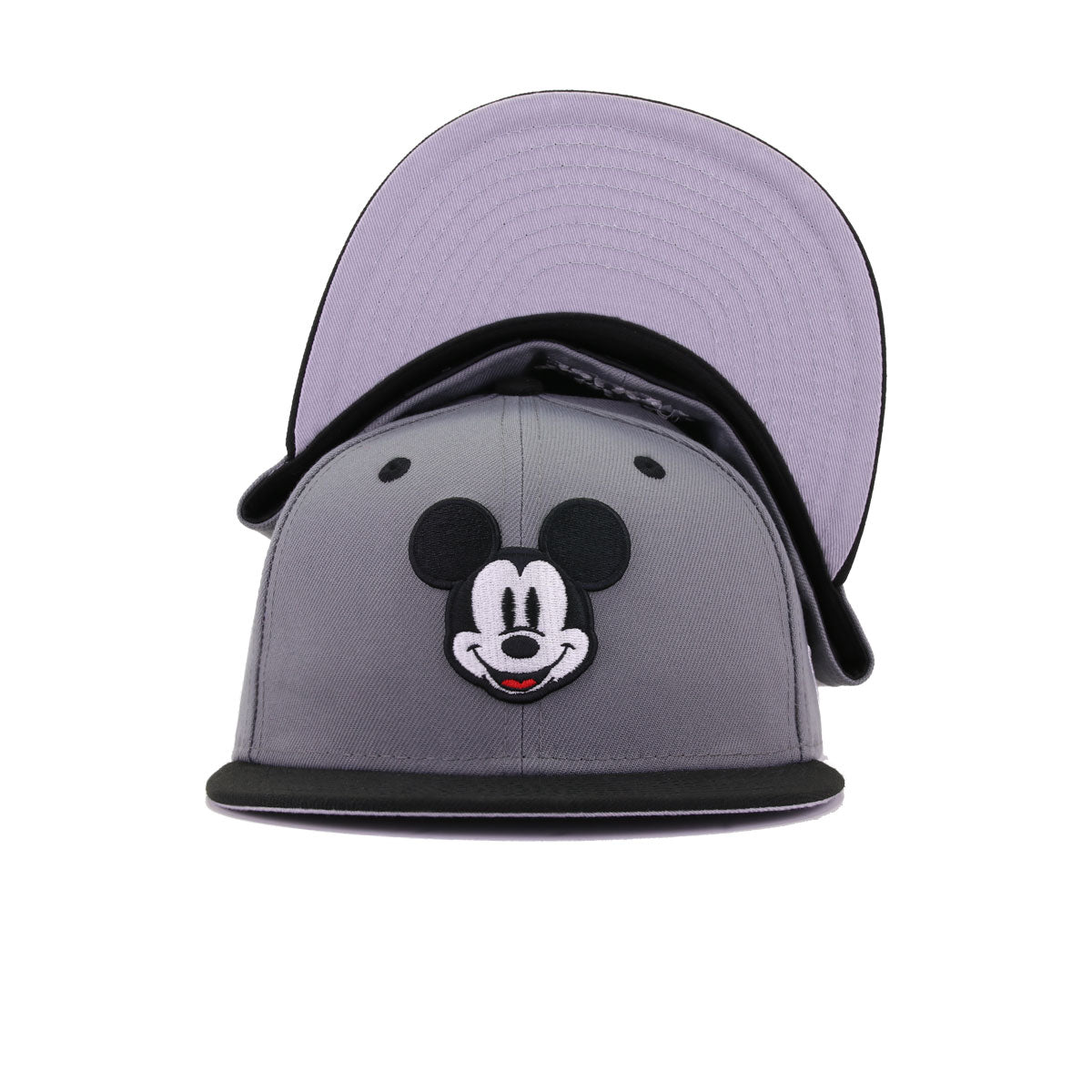 KIDS Disney Mickey Mouse Storm Grey Black New Era K59Fifty Fitted
