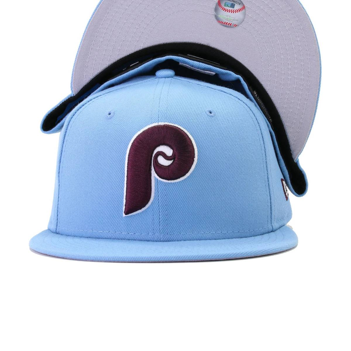 Philadelphia Phillies Sky Blue New Era 59Fifty Fitted