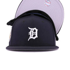 Detroit Tigers Navy White 1968 World Series New Era 9Fifty Snapback