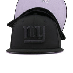 New York Giants Black on Black New Era 9Fifty Snapback