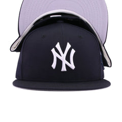 New York Yankees Navy 100th Anniversary New Era 59Fifty Fitted
