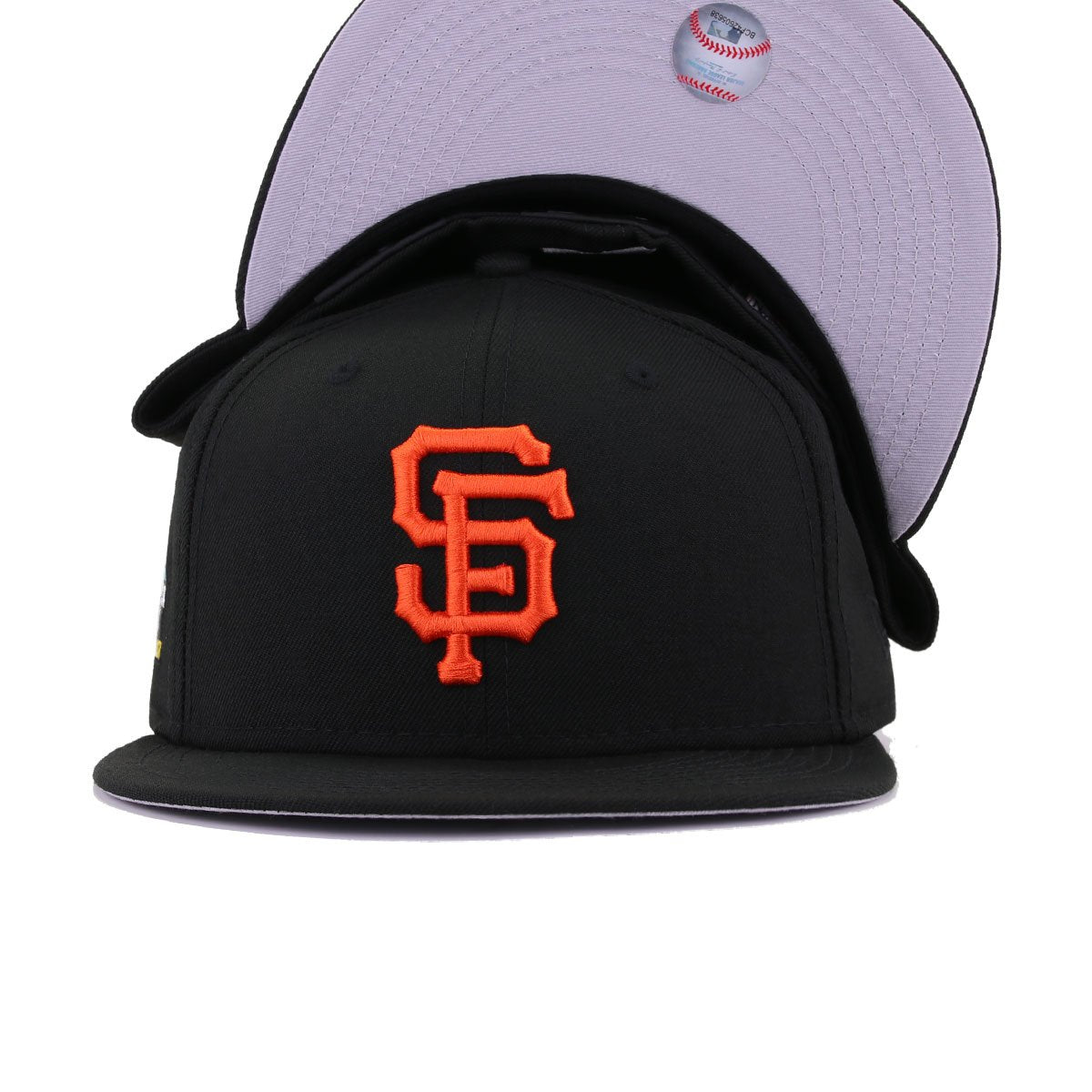 San Francisco Giants Black 2007 All Star Week New Era 59Fifty Fitted