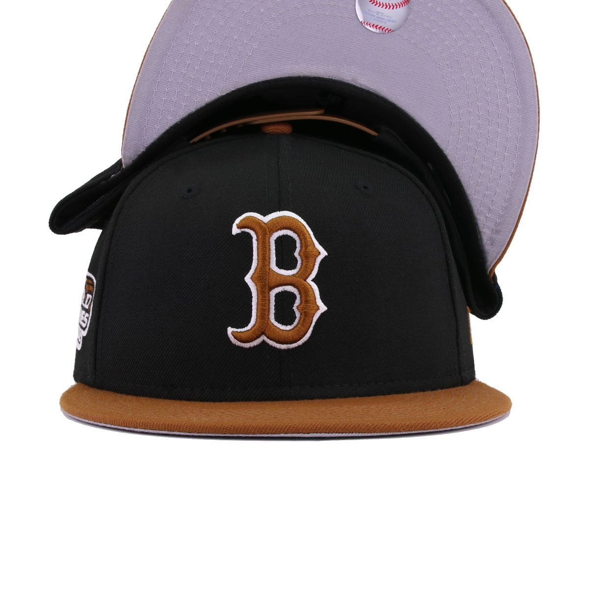 Boston Red Sox Black Toasted Peanut 2004 World Series New Era 9Fifty Snapback
