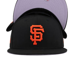 San Francisco Giants Black Grilled Orange New Era 9Fifty Snapback