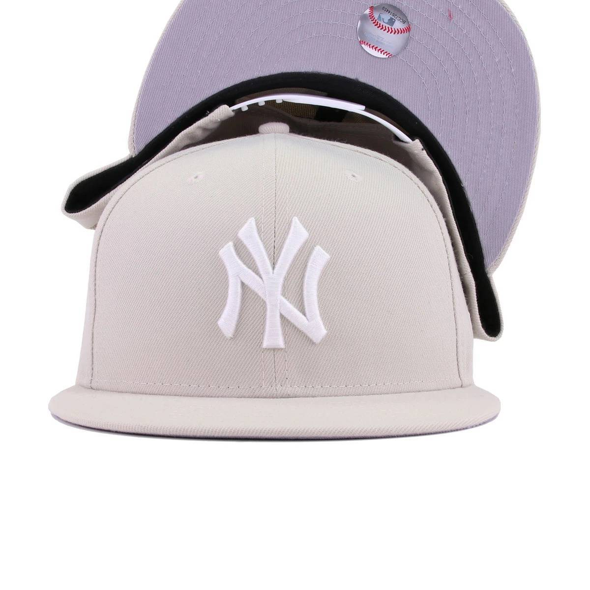 New York Yankees Stone White New Era 9Fifty Snapback