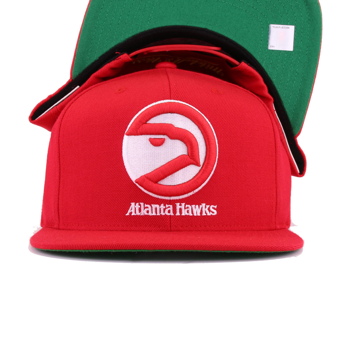 365c8c98010 Atlanta Hawks Torch Red Mitchell and Ness Snapback