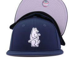 Chicago Cubs Oceanside Blue Cooperstown New Era 59Fifty Fitted