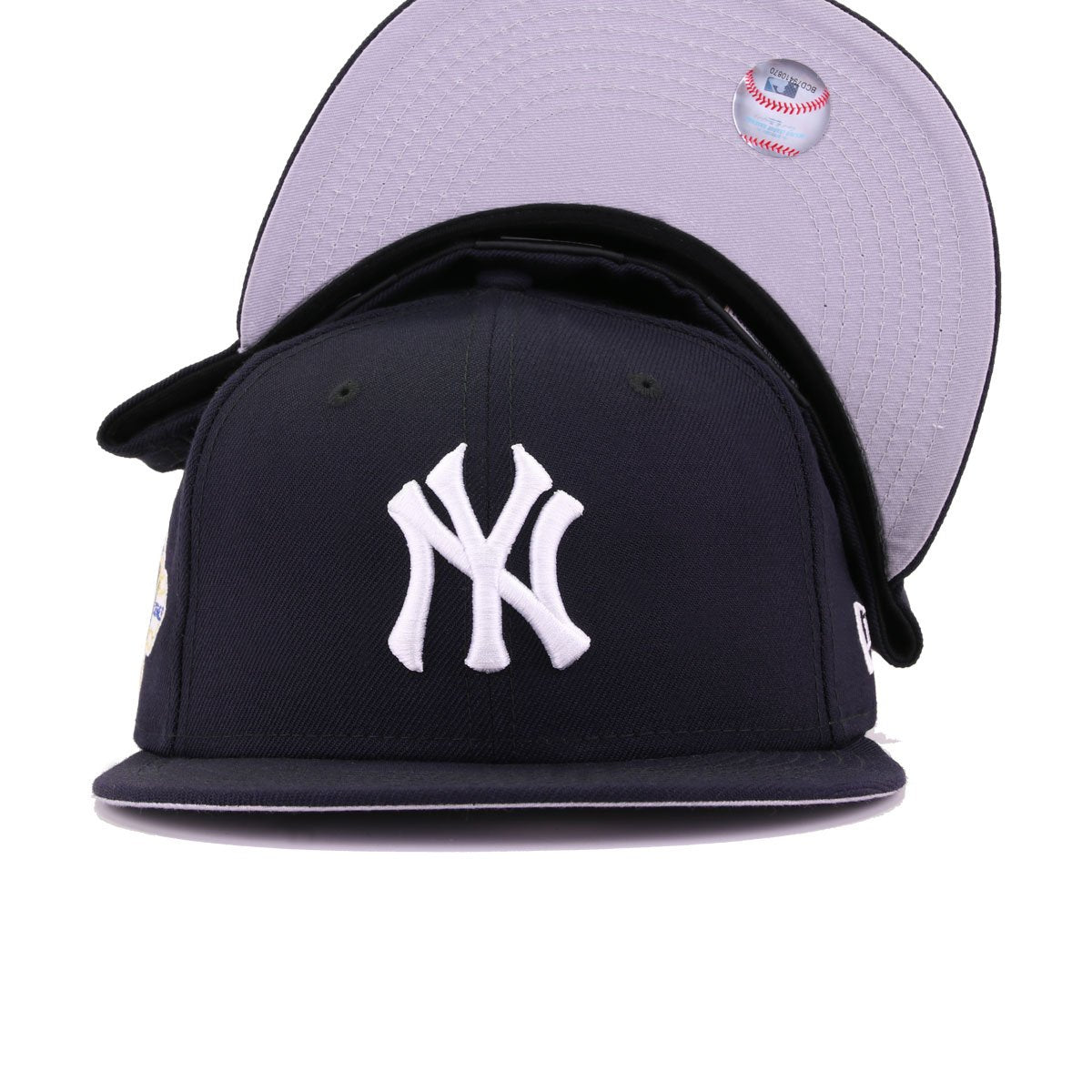 New York Yankees Navy 1958 World Series New Era 59Fifty Fitted