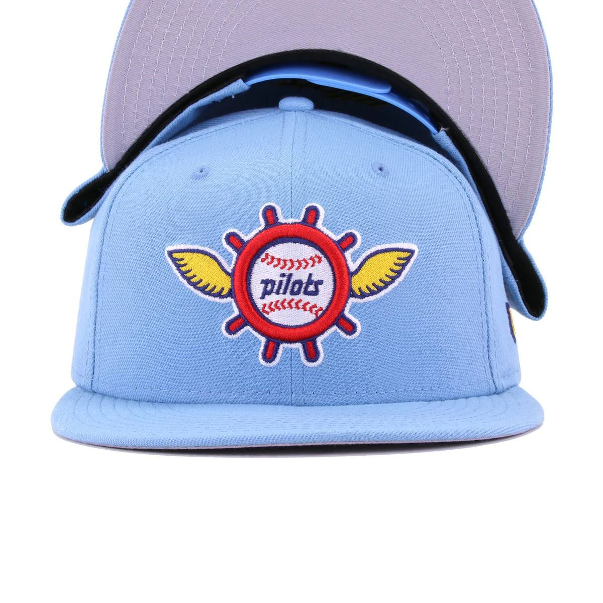 Seattle Pilots Sky Blue Cooperstown New Era 9Fifty Snapback