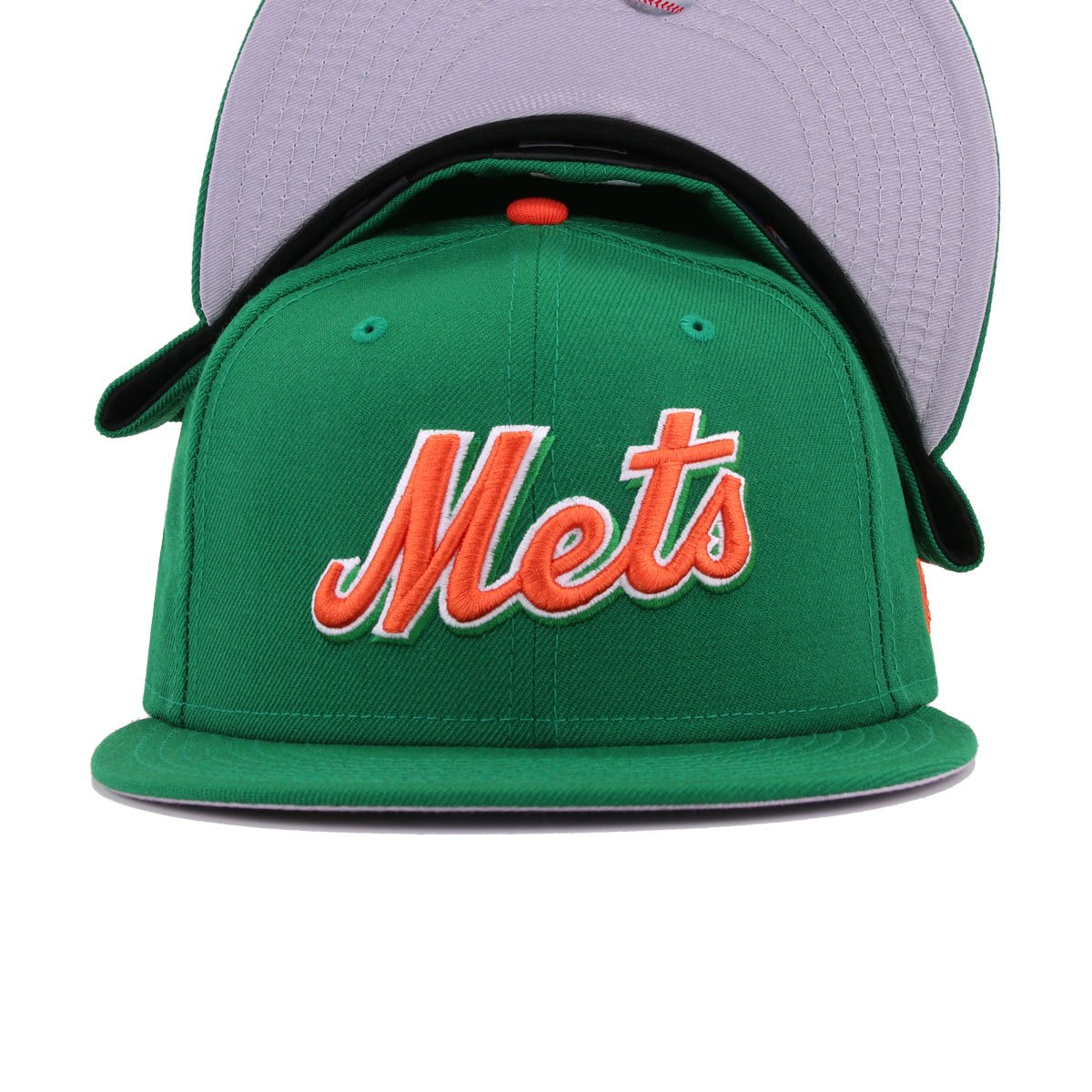 New York Mets Kelly Green New Era 59Fifty Fitted