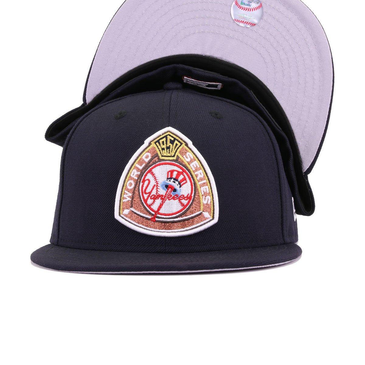 New York Yankees Navy 1950 World Series Front Cooperstown New Era 59Fifty Fitted